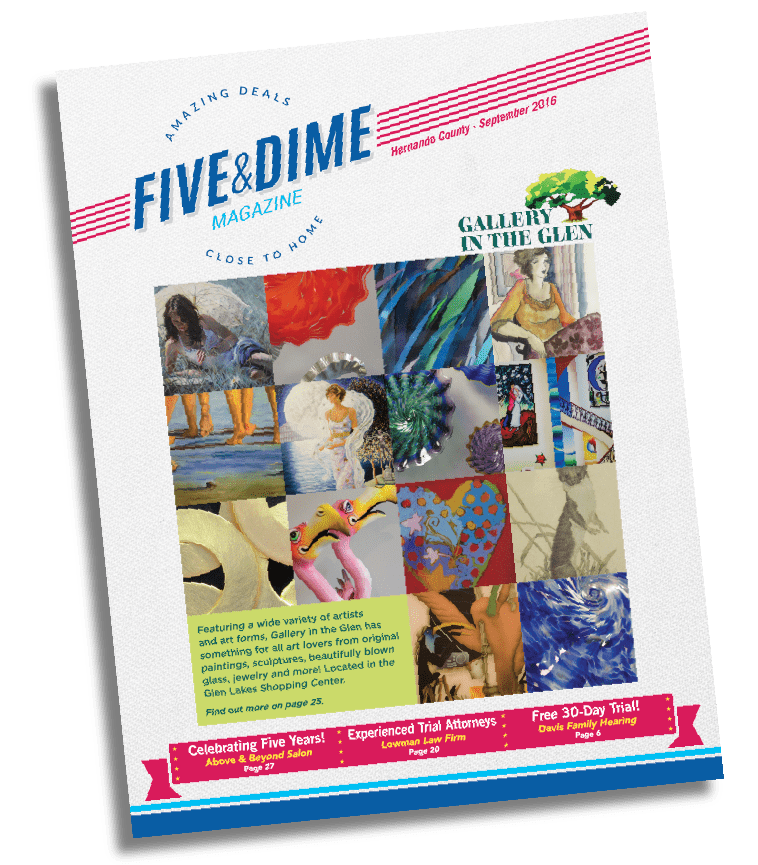 Five and Dime Magazine September 2016