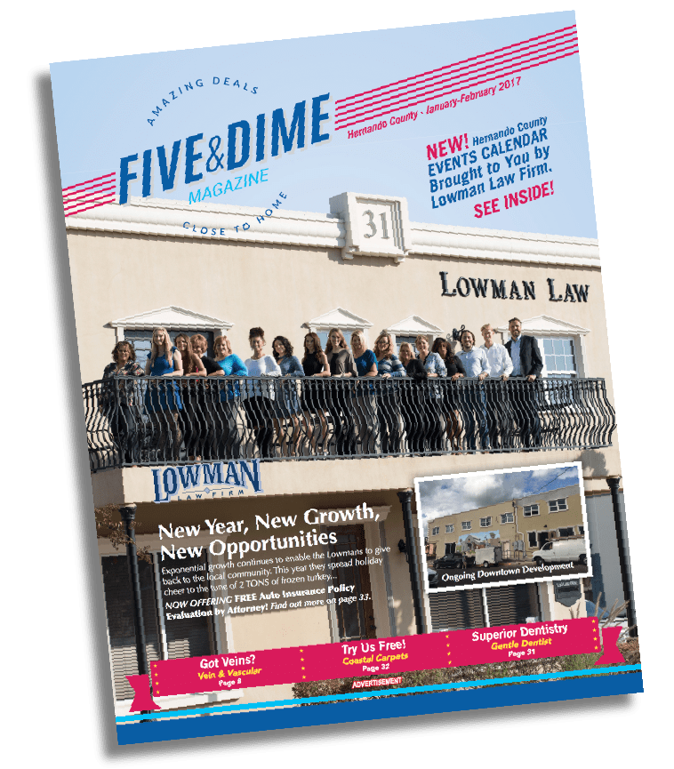 Five and Dime Magazine January 2017 Front Cover