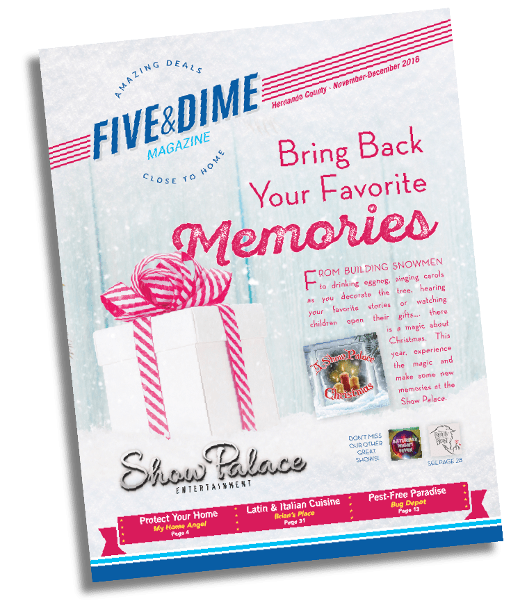Five and Dime Magazine November 2016 Front Cover