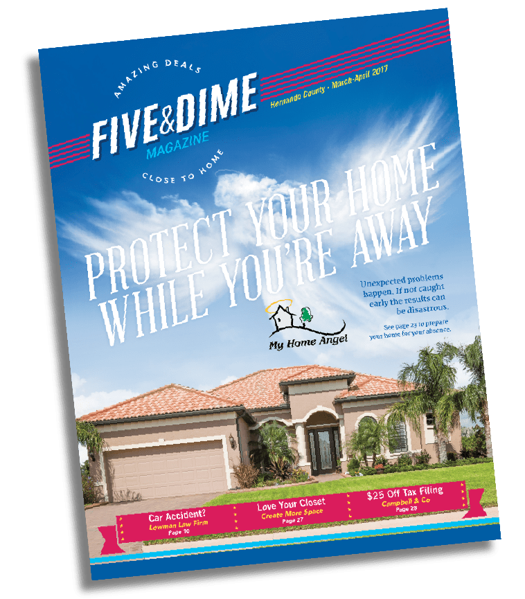 Five and Dime Magazine March 2017 Front Cover