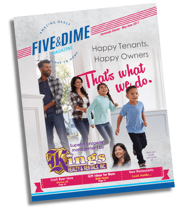 Five and Dime Magazine May 2017 Front Cover
