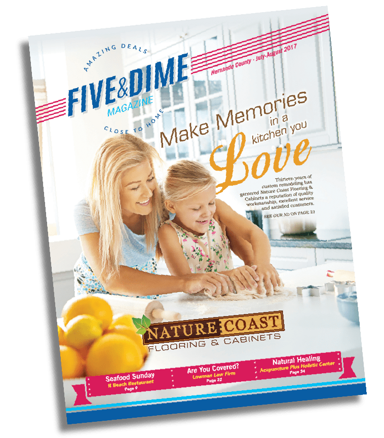 Five and Dime Magazine July 2017 Front Cover