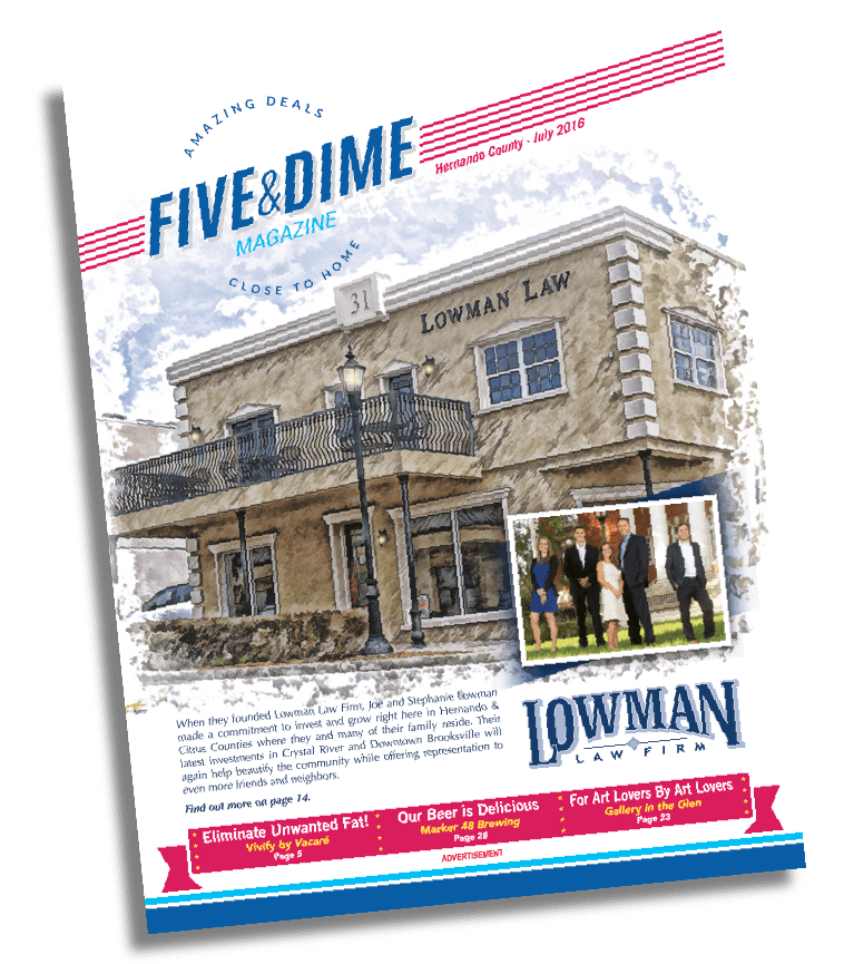 Five and Dime Magazine July 2016 Front Cover