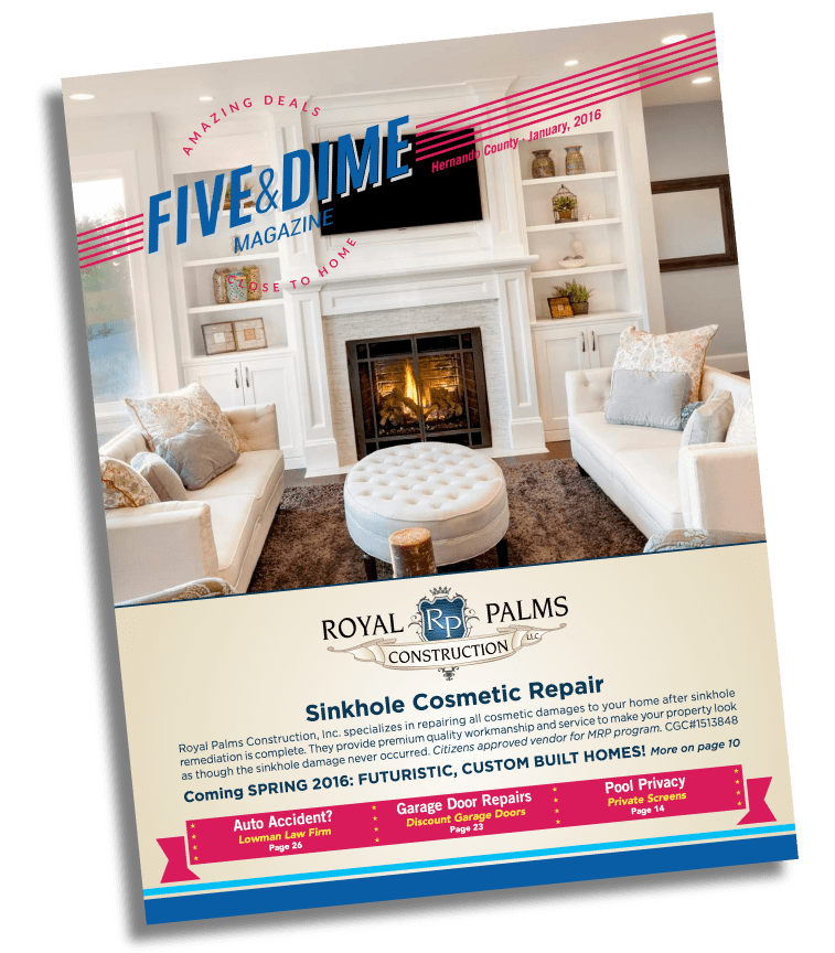 Five and Dime Magazine January 2016 Front Cover