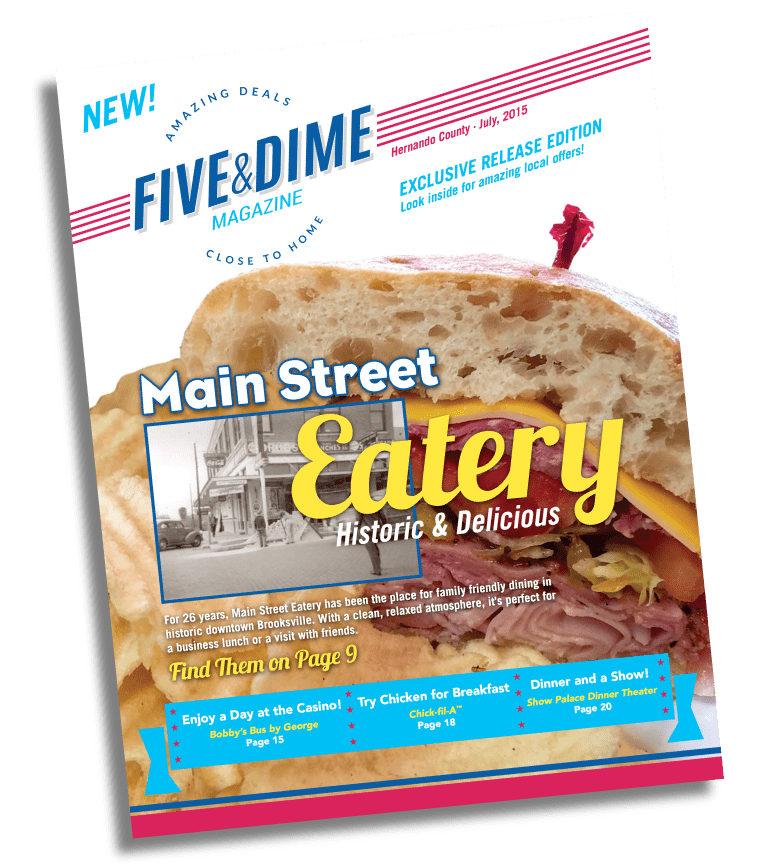 Five and Dime Magazine July 2015