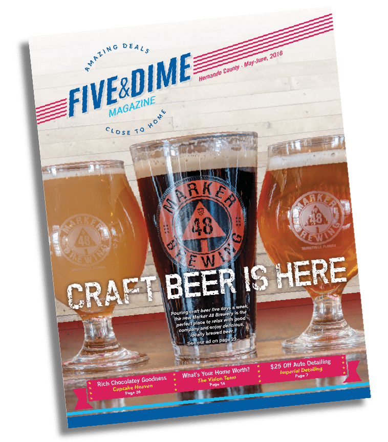 Five and Dime Magazine May 2016 Front Cover