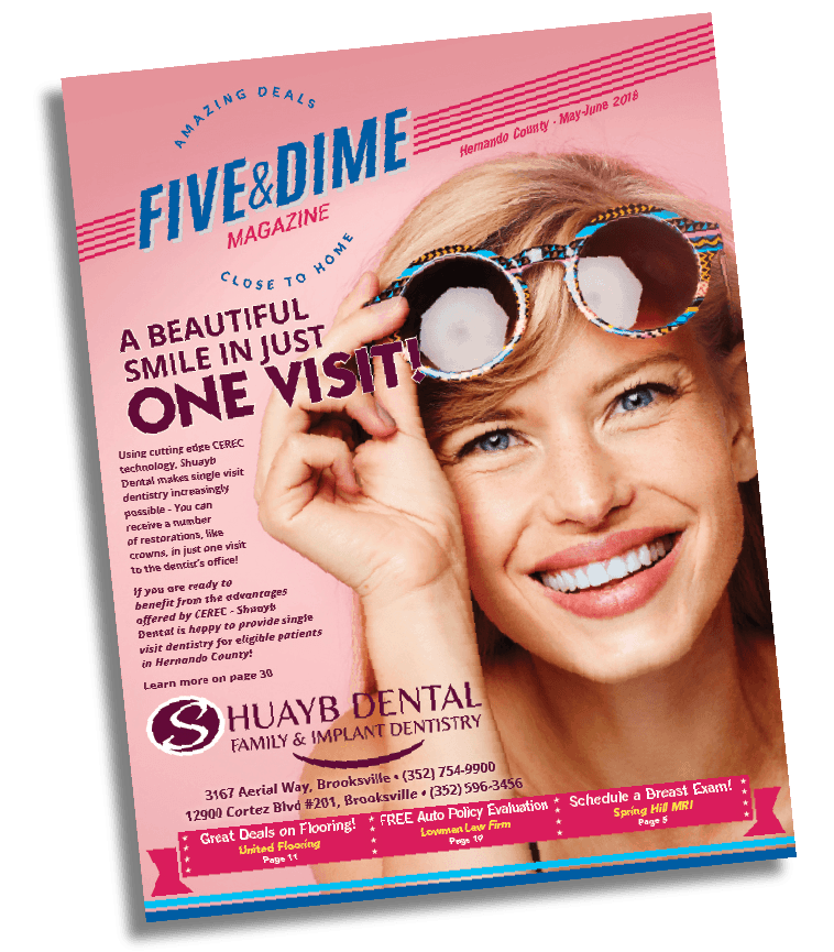 Five and Dime Magazine March/April 2018 Front Cover