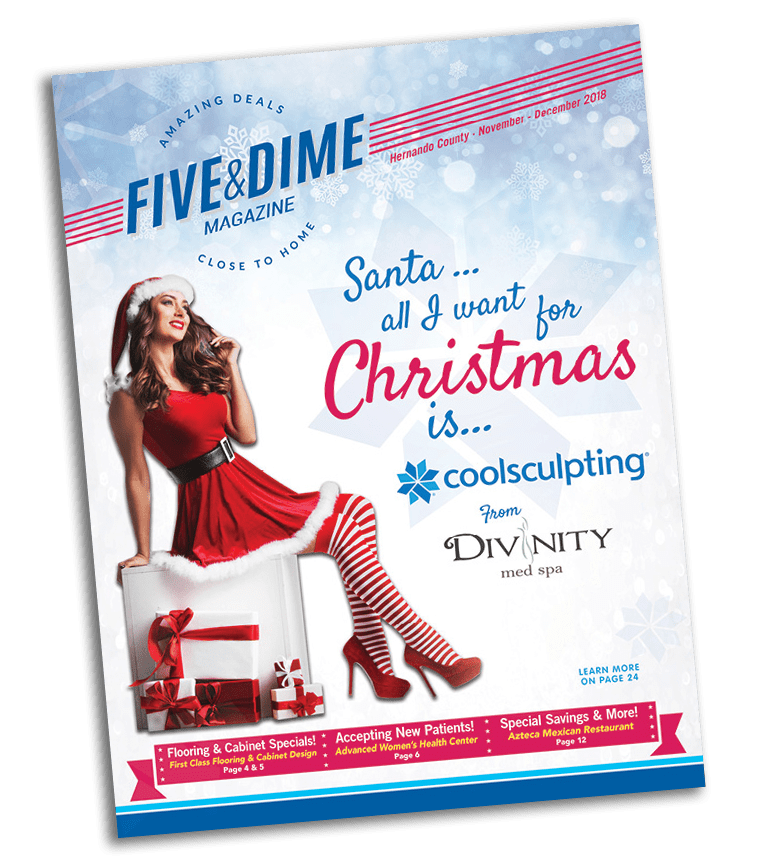 Five and Dime Magazine July/August 2018 Front Cover