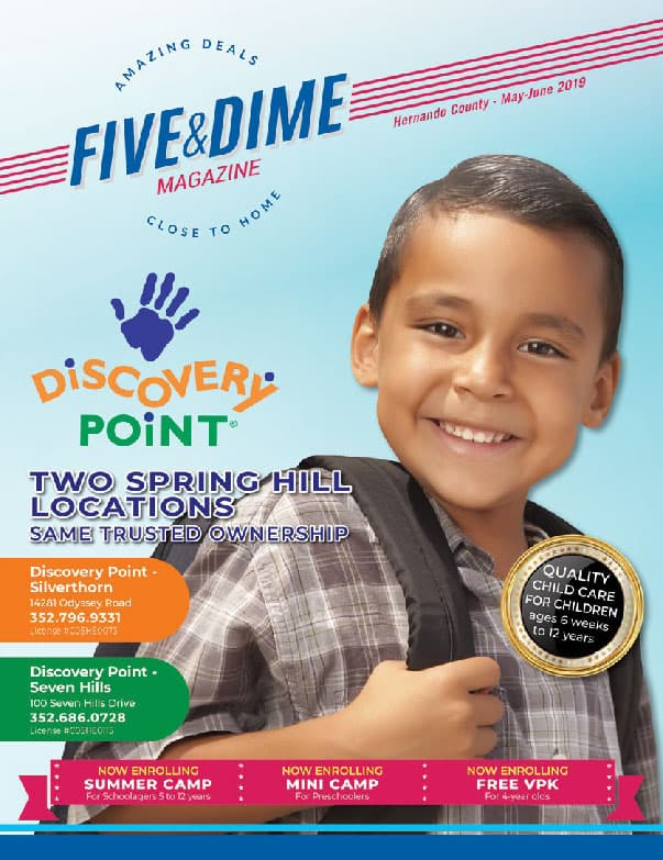 Five and Dime Magazine November/December 2018 Front Cover
